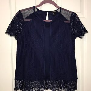 NWT express lace top